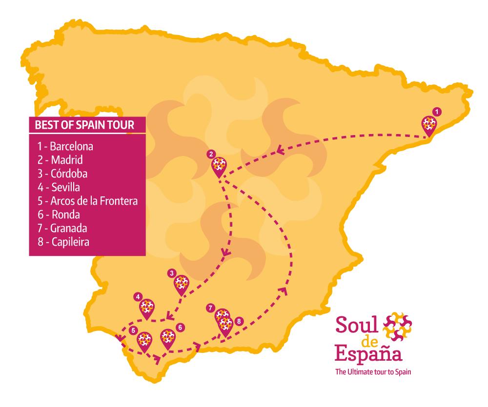 BEST OF SPAIN TOUR Soul de Espana